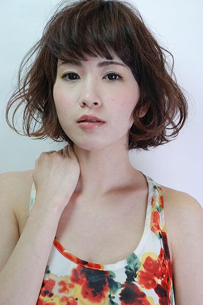 赤坂の美容院(美容室) | Replay ふんわりエアリーボブ