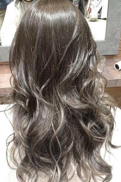 赤坂の美容院(美容室) | Replay ミルキーグレージュカラー
