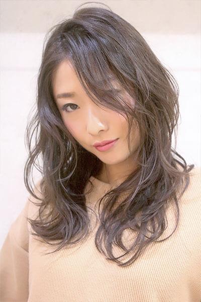 赤坂の美容院(美容室) | Replay ミルキーグレージュレイヤースタイル