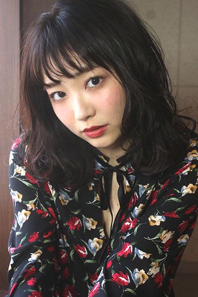 赤坂の美容院(美容室) | Replay シースルーラフミディー
