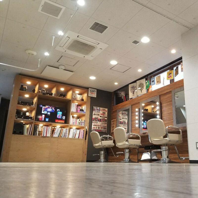 赤坂の美容院(美容室) | Replay 店舗イメージその2