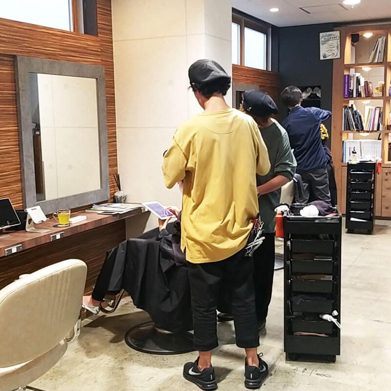 赤坂の美容院(美容室) | Replay 店舗イメージその5